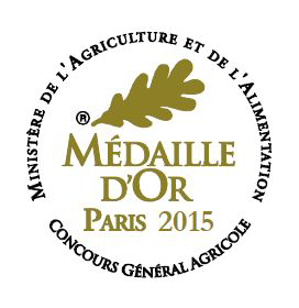 Label Medaille dor
